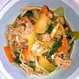 豚肉と野菜たっぷりのすき焼き煮