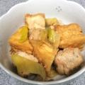 厚揚げと肉だんごのサッと煮