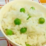 春の味覚☆グリンピースの炊き込みご飯