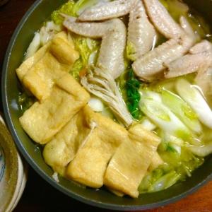 手羽先と野菜の旨味鍋★