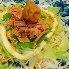 レタス素麺 低カロ
