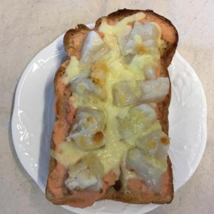 絶品♡たらこマヨ&もちチーズトースト