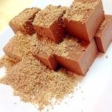 わらび餅で生チョコできたよ!
