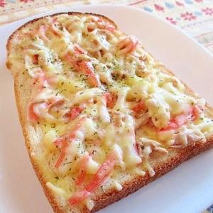 カニツナまよチーズトースト♪