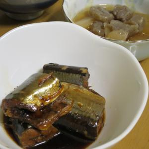 圧力鍋で簡単に作ろう秋刀魚の煮付