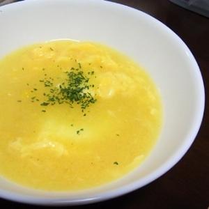 超簡単!中華風コーンスープ。