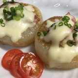 チーズがとろ〜り★大根ステーキ★
