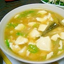 温まる(/・ω・)/☆寄せ鍋残り豆腐の中華風煮物☆