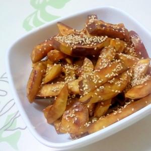 さつま芋のカリッと炒め++