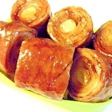 葱巻き豚の生姜照りポン焼き