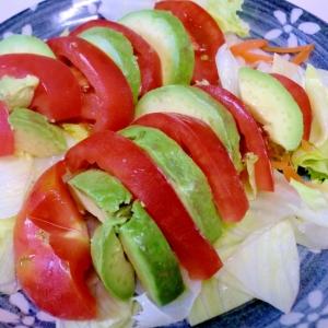 アボガドとトマトのサラダ♪