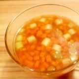 【節約スープ】つぶつぶ人参スープ