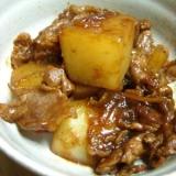 大根と豚肉の味噌煮