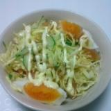 酢キャベツの簡単サラダ