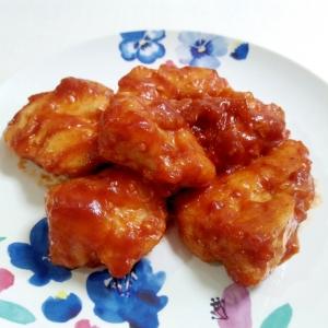 節約メニュー☆鶏肉のケチャップ炒め