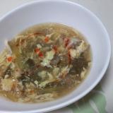 舞茸サンラータンスープ++