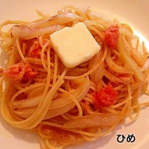 明太子スパゲティー♪