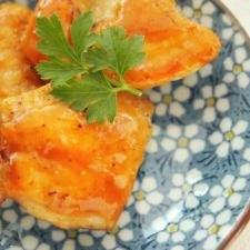 お弁当に◎鶏ムネ肉の照り焼き