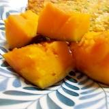 味噌汁作りながら、かぼちゃの煮物を同時に。