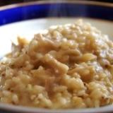 蕎麦の実と茸の酒粕リゾット