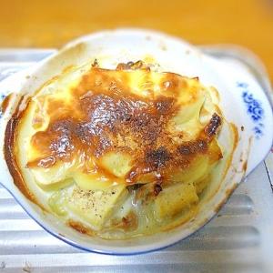 湯葉と豆腐の簡単グラタン