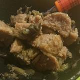 肉団子とナスの中華煮