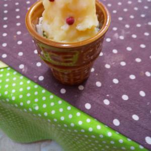 アイスクリーム風ポテトサラダ