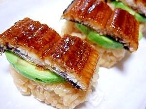カリフォルニアうなぎ寿司