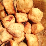 授乳婦の簡単オヤツ☆豆腐入りの焼きドーナツ