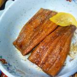 柚子香る☆冬の鰻丼