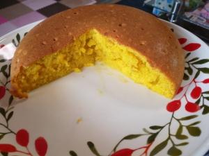 ホットケーキミックスで作るパンプキンケーキ