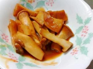 簡単美味しい☆エリンギの甘辛生姜煮♪