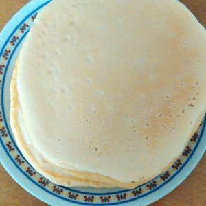 自家製ミックスで♪ホットケーキ
