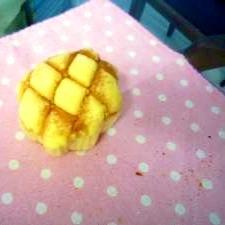 ふわふわ甘~い練乳入り生地のメロンパン