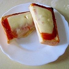 チーズとろ~り、マヨコチュトースト