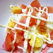 超簡単たまごサラダ