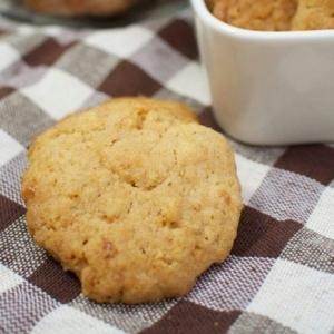 サクサク♪ポテチ入りメープルシナモンクッキー