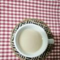 ジンジャーと黒蜜のミルクウーロン茶
