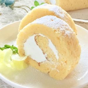しっとりふわふわ♡基本のロールケーキ