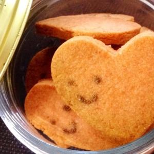可愛い♪「ピンクのハートクッキー」バレンタインにも