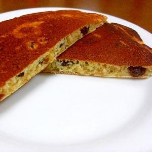 レーズンパンケーキ