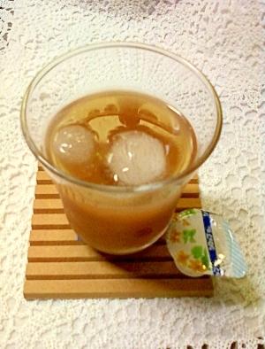 和みのお茶☆チョコシロップ入りハーブティー入り緑茶