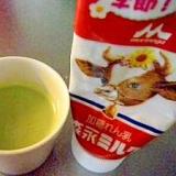 練乳で☆ミルキー抹茶