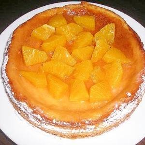 フレッシュオレンジのチーズケーキ