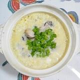 牡蠣雑炊~♪