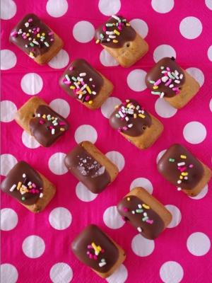 乾パンでお手軽&簡単デコ!さくさくチョコ菓子