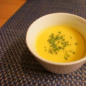 コスパ最高!牛乳でかぼちゃスープ