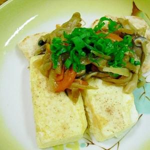 豆腐ステーキきのこあんかけ