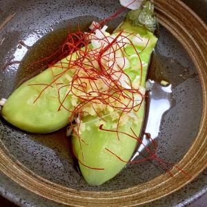 蒸しなす生姜花椒