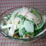さっぱり大葉入り★きゅうりと玉ねぎのハムマヨサラダ